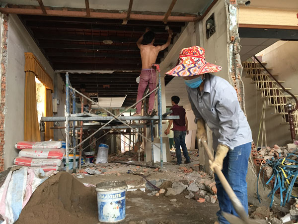 Sửa chữa nhà cải tạo công năng sử dụng