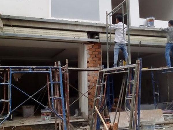 Dịch vụ sơn nhà tại TPHCM