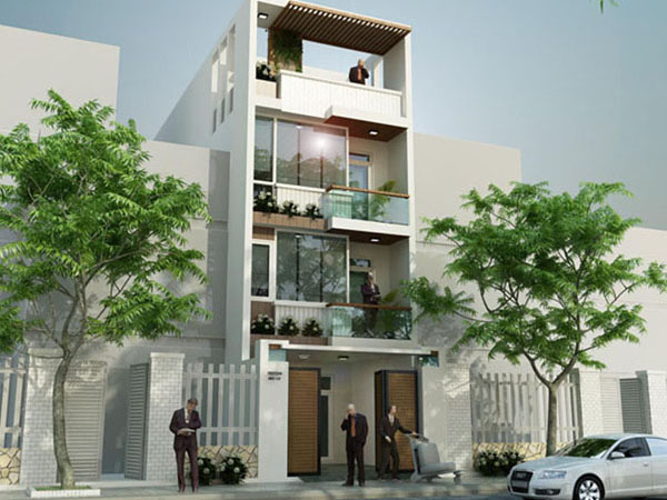 Mẫu nhà phố 3